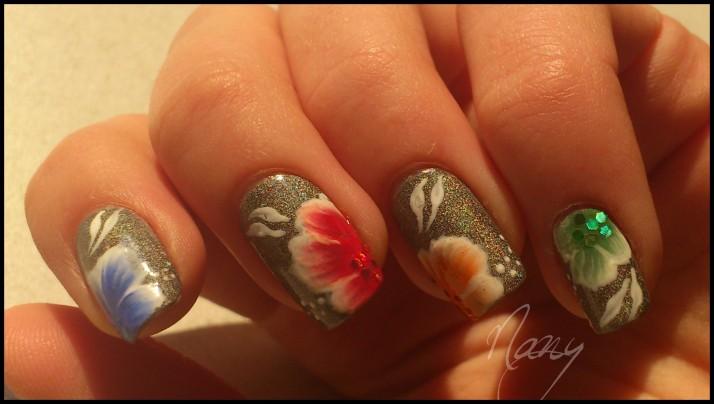 fleurs multicolores (2)