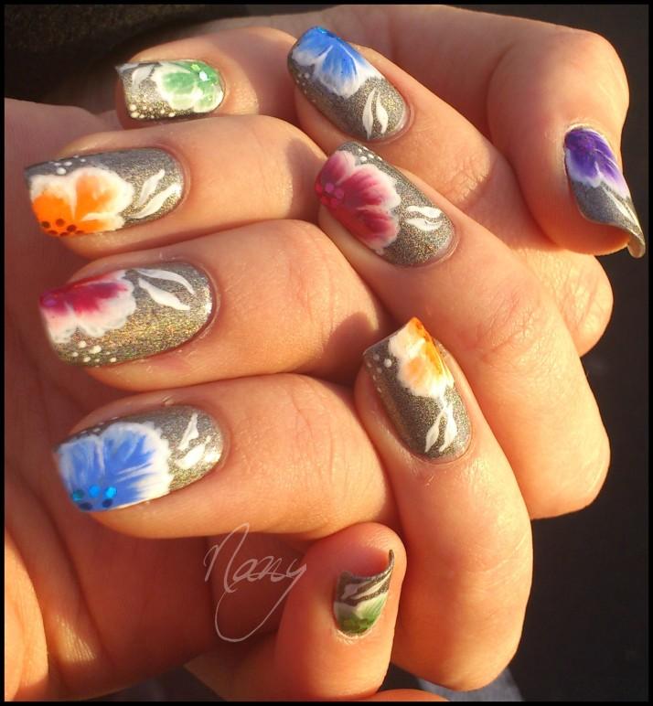 fleurs multicolores (4)