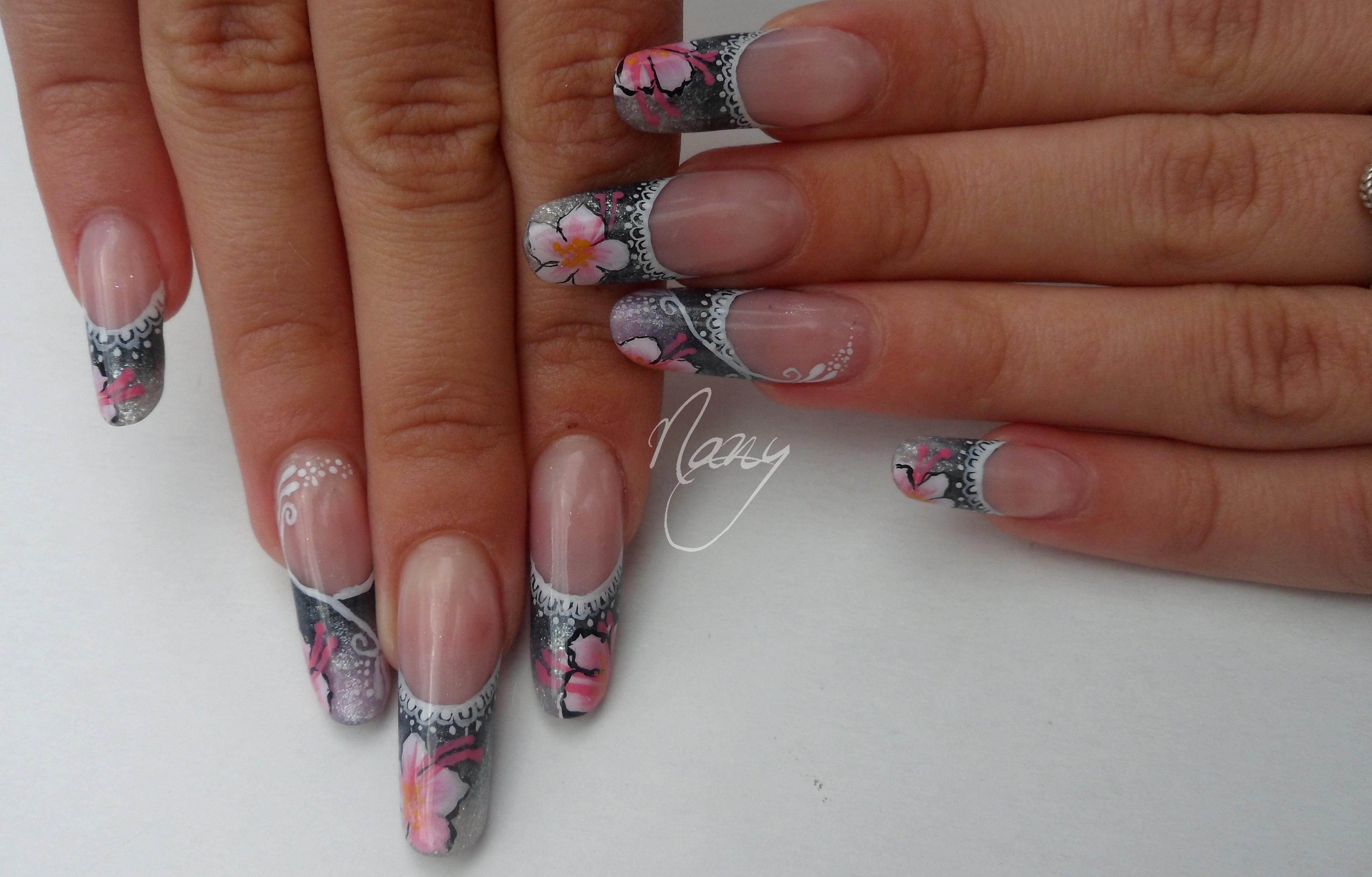 Pose de salon les ongles de nany for Ongles salon