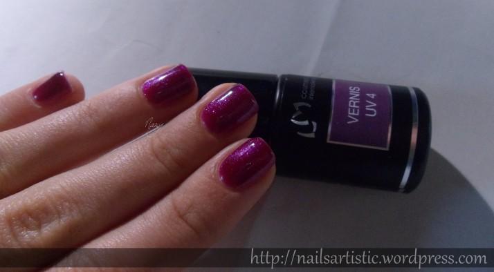 vernis uv 2 et 4 lm cosmetic les ongles de nany