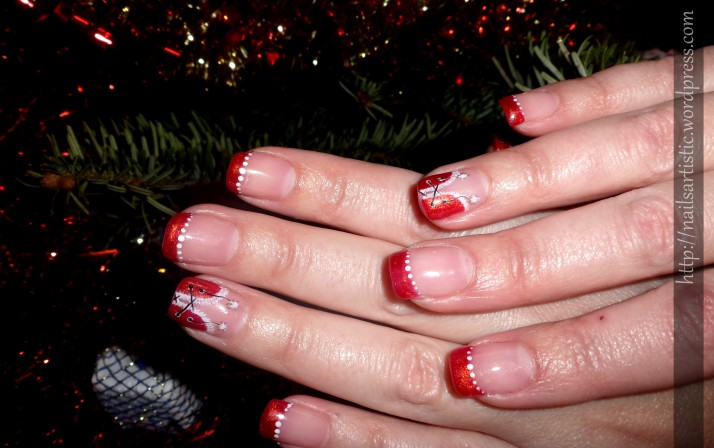 fin 2013 Martine - gel sur ongle naturel