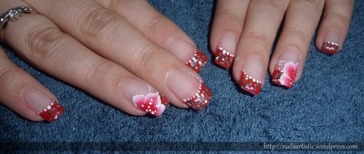 Gel sur ongles naturels - Audrey (1)