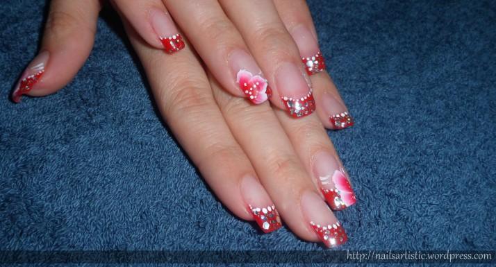 Gel sur ongles naturels - Audrey (5)
