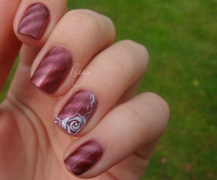 Délicate rose (1)