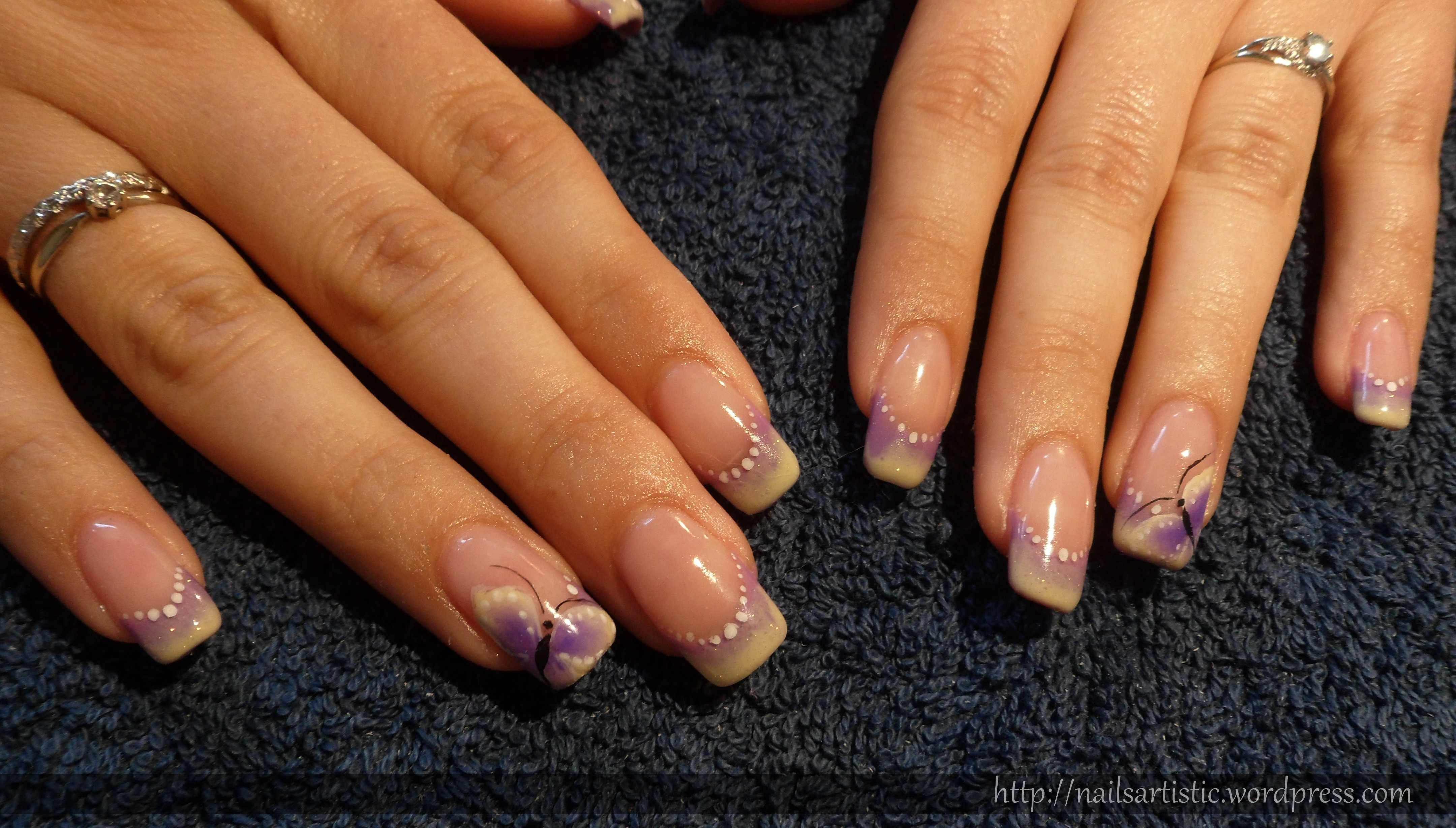 Indigo nails les ongles de nany - Photo ongle gel ...