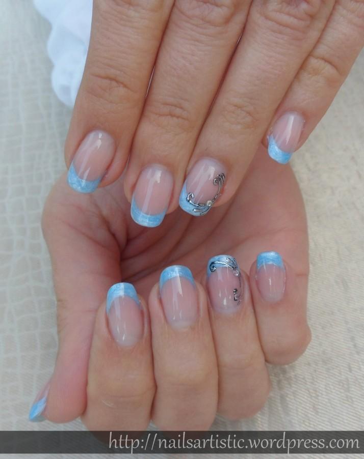 Gel néon bleu perlé - juin 2014 (2)