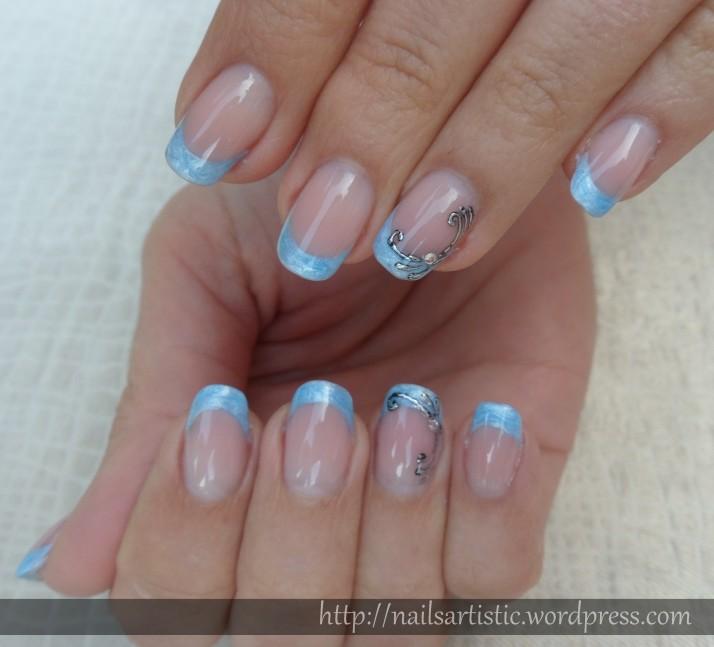 Gel néon bleu perlé - juin 2014 (3)