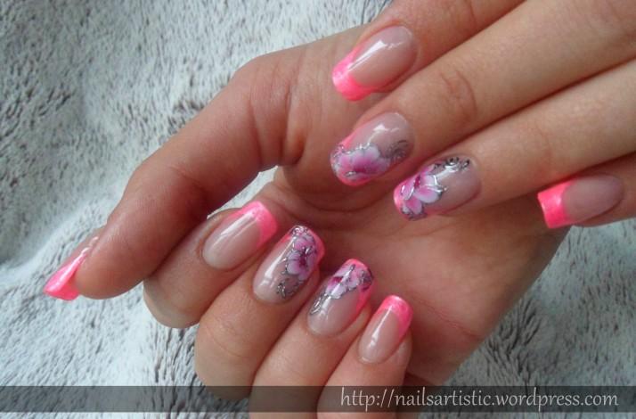 Fleurs néon (1)