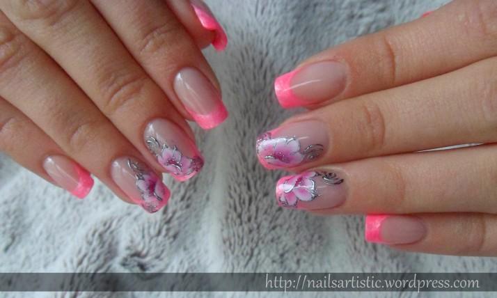 Fleurs néon (2)
