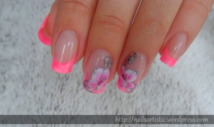 Fleurs néon (6)